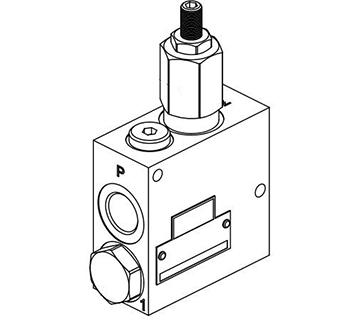 Bloc réducteur de pression + clapet