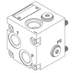 Embases aluminium T3/NG6 HP 2
