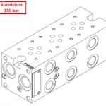 Embases aluminium T3/NG6 HP 1